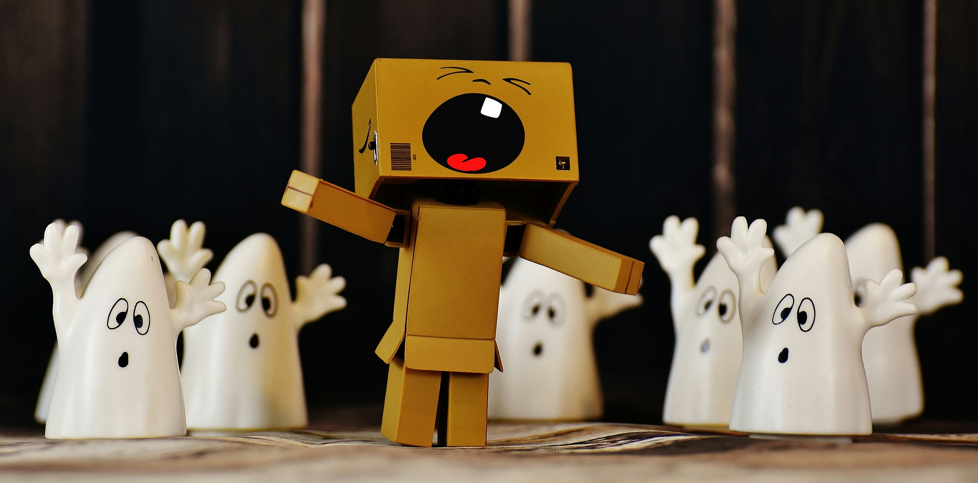 danbo and ghosts